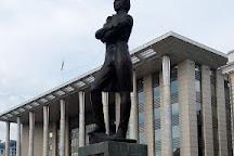 Monument A.S. Pushkin, Krasnodar, Russia