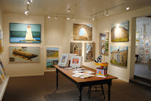 Maritime Painted Saltbox Gallery, Petite Riviere, Canada