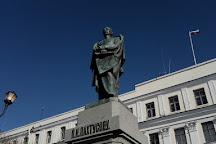 Monument to Pakhtusov, St. Petersburg, Russia