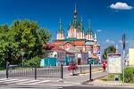 Собор Воздвижения Честного Креста Господня на фото Коломны