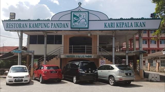 Restoran Kampung Pandan Kari Kepala Ikan
