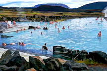 Mývatn Nature Baths, Lake Myvatn, Iceland