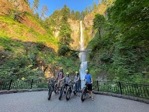 Ebike Multnomah Falls