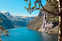 The Seven Sisters, Geiranger, Norway