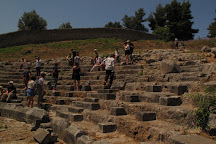 Ancient Theatre of Orchomenus, Orchomenos, Greece