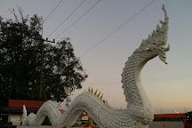 Wat ahong, Bueng Kan City, Thailand