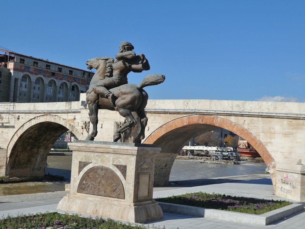 Фото Скопье: Stone Bridge