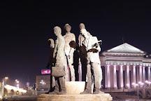 Macedonia Square, Skopje, Republic of Macedonia