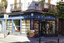 Libreria Cafe La Fugitiva, Madrid, Spain