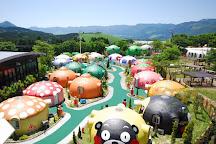 Aso Farm land, Minamiaso-mura, Japan