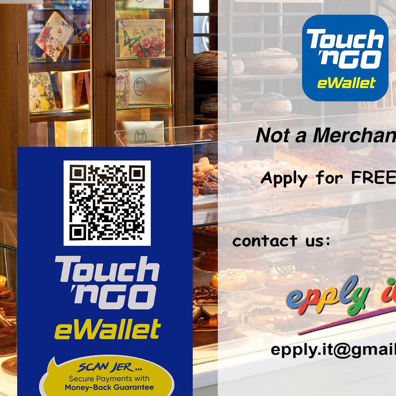 Ewallet Touch N Go Boost Epply It Commercial Agent In Desa Parkcity