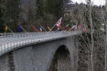 Pont du Diable, Saint-Gervais-les-Bains, France