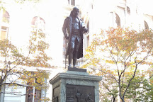 Statue of Benjamin Franklin, Boston, United States