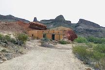 Abandoned Contrabando Movie Set, Lajitas, United States