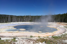 Solitary Geyser, Yellowstone National Park, United States