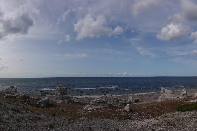 Langhammars Sea Stack Field, Faro, Sweden