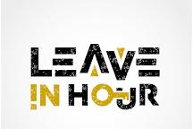 Leave in hour, Prague, Czech Republic