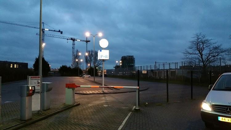 Q-Park P+R Sacharovlaan Alphen aan den Rijn