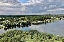Aussichtsturm auf dem Joernberg, Krakow am See, Germany