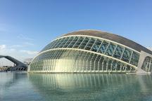 Hemisferic, Valencia, Spain