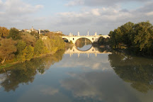 Ponte Flaminio, Rome, Italy