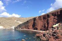 Red Beach, Akrotiri, Greece