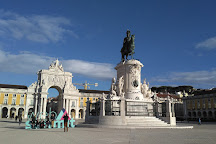 Mirante Belvedere, do Arco da Rua Augusta, Lisbon, Portugal