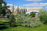 Городской парк культуры и отдыха города Тюмени на фото Тюмени