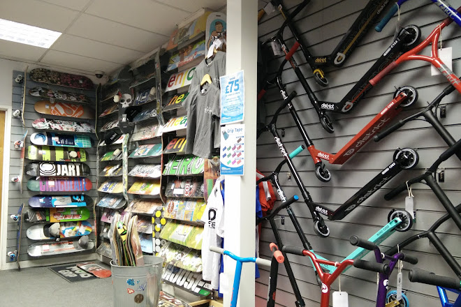 Visit ATBShop Skate Warehouse on your trip to Swindon