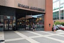 Ryman Auditorium, Nashville, United States