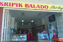 Kripik Balado Shirley, Padang, Indonesia