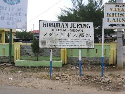 Kuburan Jepang Delitua, Sumatra Utara (+62 21 31924308)