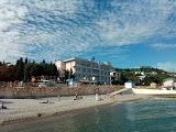 Пляж Профессорский уголок в Алуште