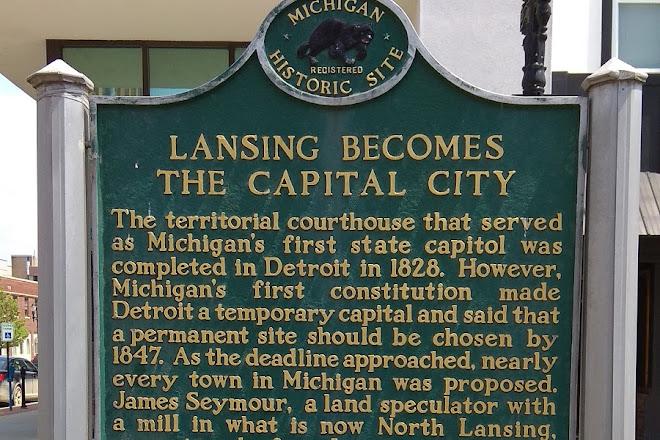 Lansing's First Capital Building, Lansing, United States