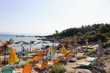 Orange beach, Sarti, Greece