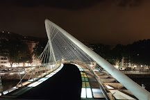 Puente Zubizuri, Bilbao, Spain