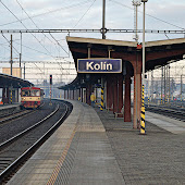 Train Station  Kolín