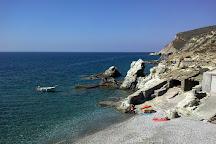 Agkali beach, Chora, Greece