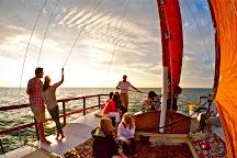 Sailing Montauk's Catamaran Mon Tiki, Montauk, United States