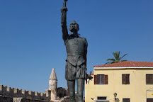 The Statue of Cervantes, Naupactus, Greece