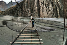 Hussaini Hanging Bridge, Hunza, Pakistan