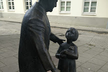 Monument to Zemach Shabad, Vilnius, Lithuania