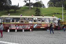 Plaza del Minero, Zipaquira, Colombia