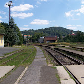 Железнодорожная станция  Becov Nad Teplou