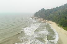 Teluk Kalong Beach, Kuala Terengganu, Malaysia