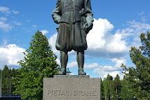 Statue of Per Brahe, Kajaani, Finland