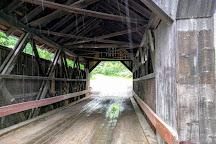 Gold Brook Covered Bridge (Emily's Covered Bridge), Stowe, United States