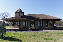 Hearne Railroad Museum Depot, Hearne, United States