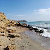 Пляж в поселке Волна