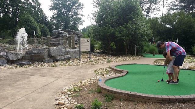 Burke Lake Park Mini-Golf Course